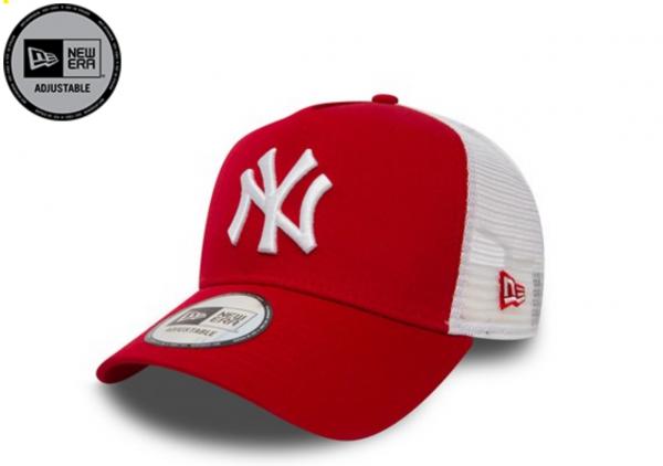 New Era New York Yankees A Frame Adjustable Trucker Cap Camo Essential