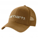 Dunmore cap front brown