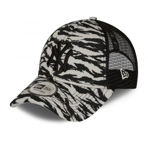 New York Yankees Tiger Print Grey 9FORTY Cap